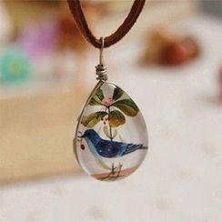 Nisen - 小鸟吊坠项圈