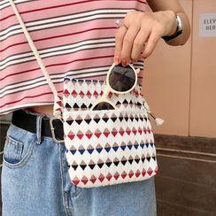 Milha - Patterned Chiffon Crossbody Bag (Various Designs)