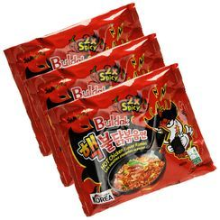 Grainee Foods - Samyang Hot Chicken Stir Ramen Extreme Flavor (3 packs)