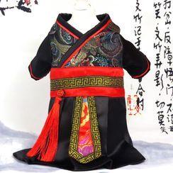 Fuminsho - 復古中國風寵物連衣裙