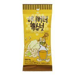 Tom's Farm - Dry Roasted Honey Butter Cashew Nut 30g