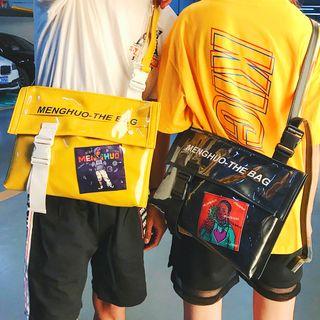 SUNMAN - Lettering Strap Messenger Bag