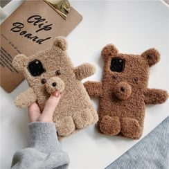 Edgin - Teddy Bear Phone Case - iPhone 7 / 7 Plus / 8 / 8 Plus / X / XR / XS / XS MAX / 11 / 11 Pro / 11 Pro Max