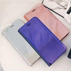 Case Study - 镜面翻盖式手机保护套 - iPhone X / 8 / 8 Plus / 7 / 7 Plus / 6s / 6s Plus