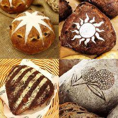 Nastaccey - Baking Bread Stencil