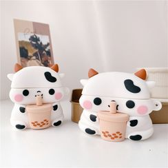 Capritz - Bubble Tea Milk Cow AirPods / Pro Earphone Case Cover