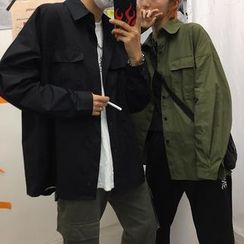 MELLO - Couple Matching Button-Up Jacket