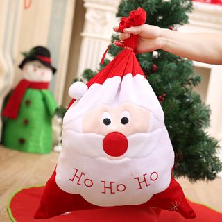 Fiesta - Christmas Santa Fabric Pouch