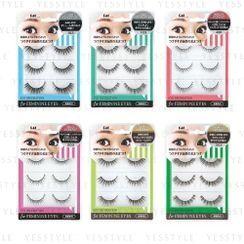 KAI - Eye Decoration For Feminin Eyes 3 pairs - 6 Types