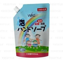 NIHON DETERGENT - Wins Medicated Bubble Hand Soap Refill 600ml