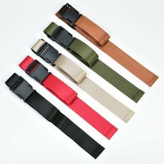 Palmi - Snap Buckle Canvas Belt