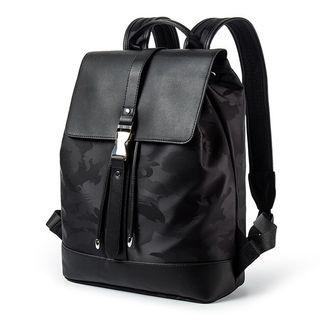 TESU - Faux Leather Drawstring Backpack