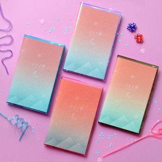 BABOSARANG - 2020 Glittered Transparent Weekly Planner (M)