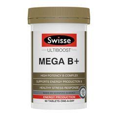 Swisse - Ultiboost: Mega B+ Tablet