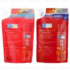 Rohto Mentholatum - Hada Labo Gokujyun Alpha Lotion Refill 170ml - 2 Types