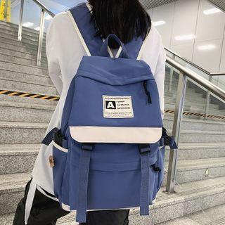 Gokk(ゴック) - Two-Tone Nylon Backpack