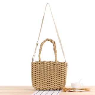 STYLE CICI - Woven Tote Bag
