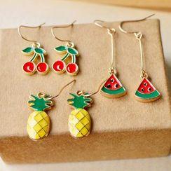 Nisen(ニセン) - Fruit Drop Earrings