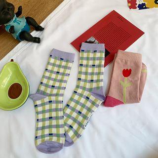 Small Planet - 印花袜子 / 套装