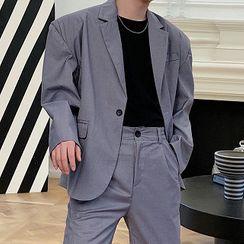 Bjorn - 單鈕扣西裝外套