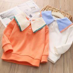 Seashells Kids - Kids Long-Sleeve Polo Shirt