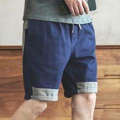 Wescosso - Color Block Shorts