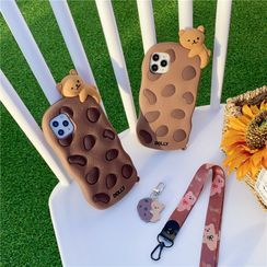KeCase - Bear Cookie Phone Case - iPhone 11 Pro Max / 11 Pro / 11 / SE / XS Max / XS / XR / X / SE 2 / 8 / 8 Plus / 7 / 7 Plus