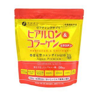 Fine Japan - Premium Hyaluron & Collagen + Ubiquinol Q10 Drink (Refill)