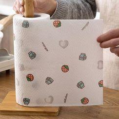 Popcorn - 印花一次性厨房毛巾