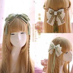 Elfis - Bow Hair Band / Hair Tie / Hair Clip / Hair Barrette