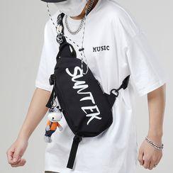 SUNMAN - Lettering Sling Bag