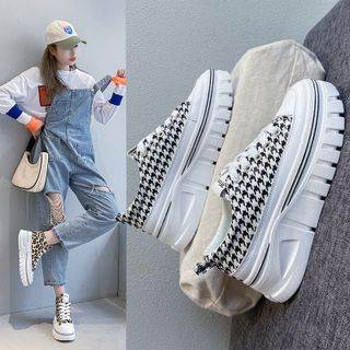 FRAISO - Canvas Platform Sneakers