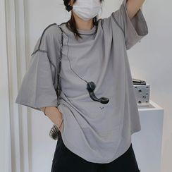 Arnolfini - Short-Sleeve Phone Print T-Shirt