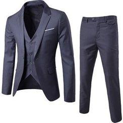 Aozora - Set: Blazer + Vest + Pants