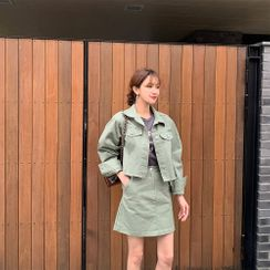 PPGIRL - Fray-Hem Jacket