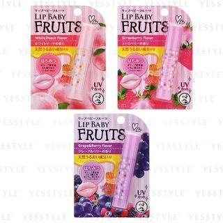 Rohto Mentholatum - Baume à lèvres Lip Baby Fruits – 3 sortes