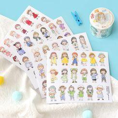 Cute Essentials - Cartoon Print Sticker