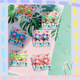 Hello minto - Flower Earring
