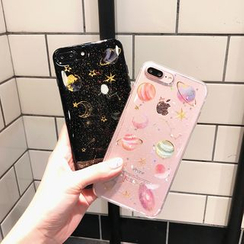 Hephone - Printed Phone Case - iPhone 6 / 6 Plus / 7 / 7 Plus / 8 / 8 Plus / X / XR / XS Max/ 11 / 11 Pro / 11 Pro Max