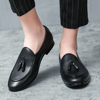 WeWolf - Tasseled Faux-Leather Loafers