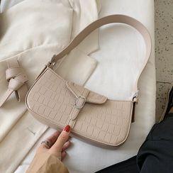Kunado - Croc Grain Handbag