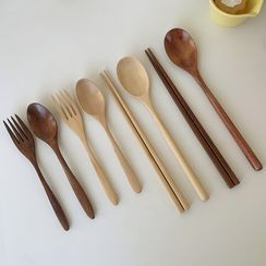 Hollos - Wooden Spoon / Fork / Chopsticks / Set