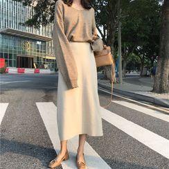 Eden's Corner - Midi A-Line Skirt