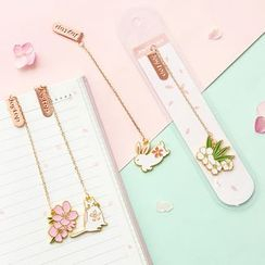 Cute Essentials - Metal Chained Bookmark (various designs)
