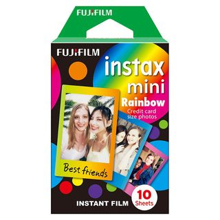 Fujifilm - Fujifilm Instax Mini Film (Rainbow) (10 Sheets per Pack)