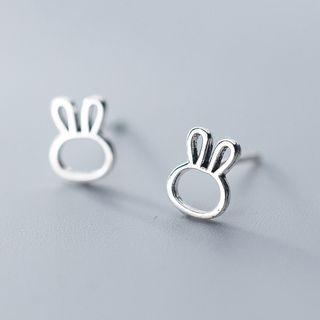 A'ROCH - 925 Sterling Silver Rabbit Stud Earrings