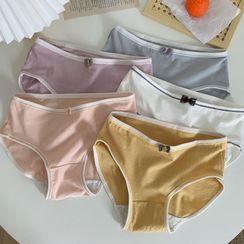 Sisyphi - Set of 5: Plain Panties