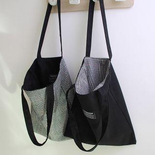 Binkee - 格子手提袋