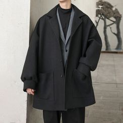 CooLook - Single Breasted Coat