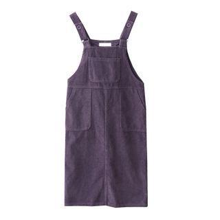 AGI - Corduroy Overall Dress